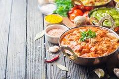 Asortowany indyjski jedzenie Zdjęcie Royalty Free