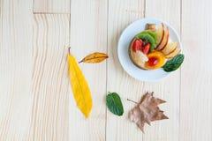 Asortowany owoc tort Zdjęcie Stock