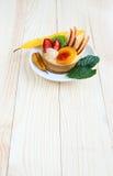 Asortowany owoc tort Zdjęcie Royalty Free