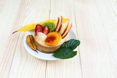 Asortowany owoc tort Obrazy Stock