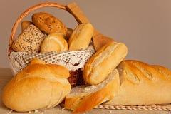Asortowany tradycyjny chleb Fotografia Stock