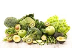 Asortowany zielony warzywo Zdjęcie Royalty Free