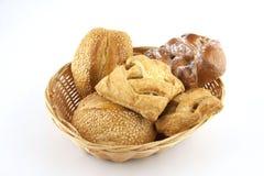 Asortymentów ciasta i chleb Obrazy Royalty Free