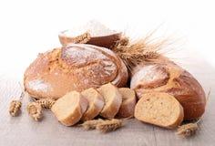 Asortyment świeży chleb obrazy royalty free