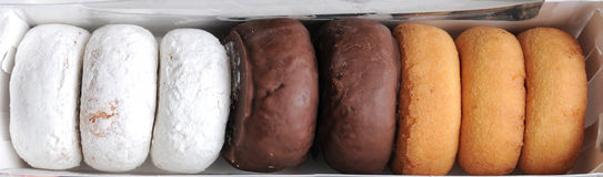 asortyment boksujący donuts fotografia royalty free