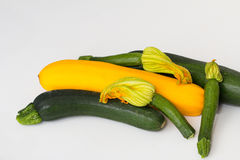 Asortyment Courgettes Obrazy Royalty Free