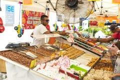 Asortyment cukierki w cukierku sklepie Zdjęcie Stock