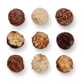 asortyment czekolada zdjęcie royalty free