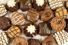 asortyment czekolada Zdjęcia Royalty Free