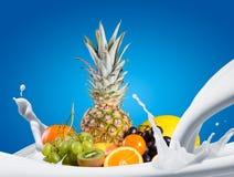 Asortyment egzotyczne owoc Zdjęcia Royalty Free