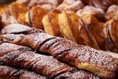Asortyment francuscy ciasta Zdjęcie Royalty Free