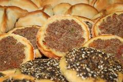 Asortyment libańczyk Piec jedzenie zdjęcie royalty free