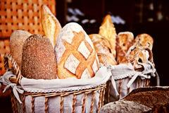 Zbliżenie piec chleb Fotografia Stock