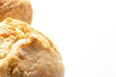 Asortyment, r??ni rodzaje banatka piec chleb z z?ot? skorup? na bia?ym tle z kopii przestrzeni?, piekarnia i sklepu spo?ywczego p zdjęcie stock