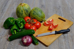 Asortyment sezonowi warzywa Obrazy Stock