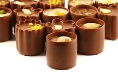 asortymentu cukierku czekolada Obrazy Stock