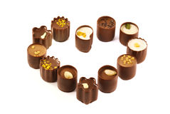 asortymentu cukierku czekolada Obrazy Royalty Free