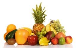 asortymentu egzota owoc Obraz Stock