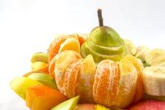 asortymentu egzota owoc Obrazy Royalty Free