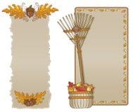 asortymentu jesień ramy vertical Obraz Royalty Free