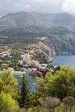 Asos, Kefalonia, September 2006 Royalty Free Stock Images