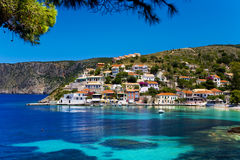 Asos village, Cephalonia Stock Image