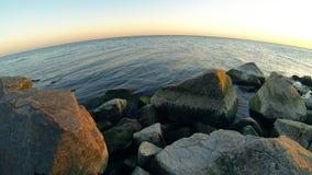 Asov海和沿海石头 股票视频