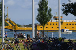 Aspö prom w Karlskrona Obrazy Stock