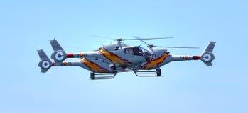 aspa helikopterów patrol Zdjęcia Stock