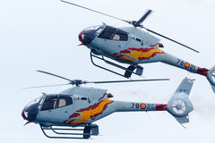 Aspa Patrol. Aircraft: 5 x Eurocopter EC120B Colibrí. Stock Photos