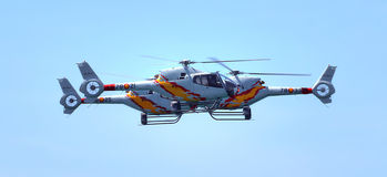 Aspa Patrol helicopters Stock Photos