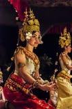 aspara舞蹈演员 免版税库存图片