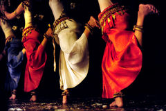 Aspara Dancers Royalty Free Stock Photos
