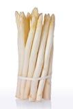 Asparago bianco (officinalis dell'asparago) Fotografie Stock Libere da Diritti