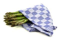 Asparago cucinato Fotografie Stock