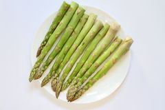 Asparago di verdure verde Immagini Stock