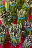Asparago fresco Immagine Stock
