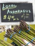 Asparago fresco Fotografia Stock Libera da Diritti
