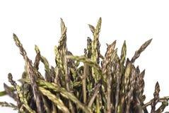 Asparago fresco isolato Fotografia Stock Libera da Diritti