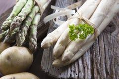 Asparago misto Fotografie Stock