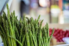 Asparago nel mercato Fotografia Stock Libera da Diritti