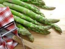Asparago verde 4 fotografia stock