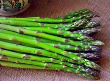 Asparago verde fresco Fotografie Stock