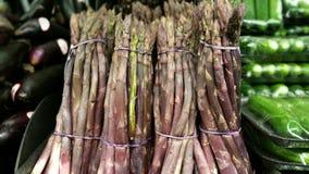 Asparago viola Immagini Stock Libere da Diritti
