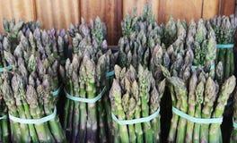 Asparagusów trzony Zdjęcie Stock