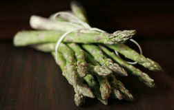 Asparagus. Tied with string stock images