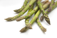 Asparagus. Raw bunch green asparagus vegetarian food Royalty Free Stock Photo