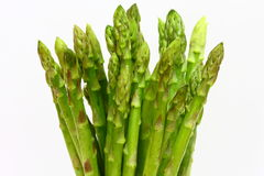 Asparagus. Isolated on white background royalty free stock image