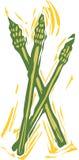 asparagus royalty ilustracja