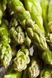 Asparagus. Fresh asparagus  on a cutting board healthy Stock Photos